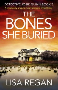 """Cover of """"The Bones She Buried"""""""